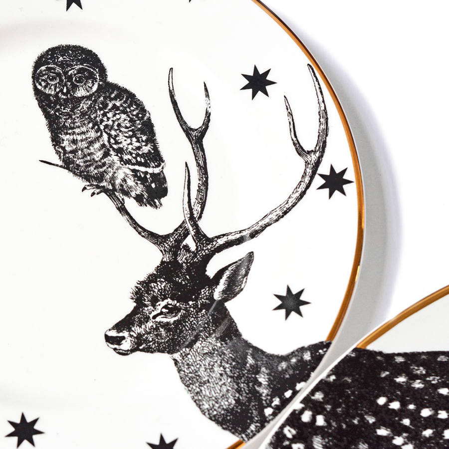 yvonne-ellen_animal-plate-set_stag_2