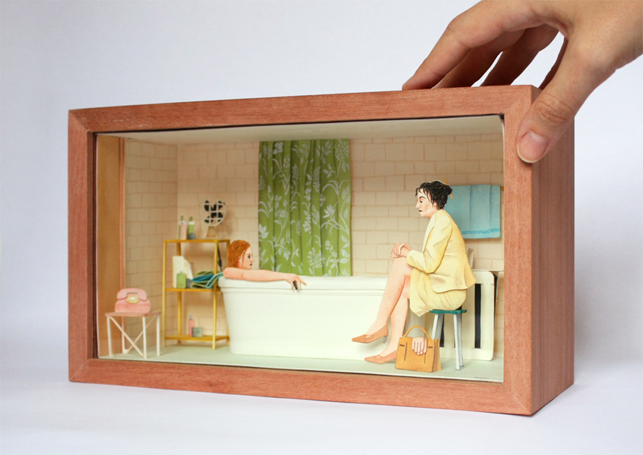 mar-cerda_diorama_the-royal-tenenbaums_i-tied-to-the-radiator-1