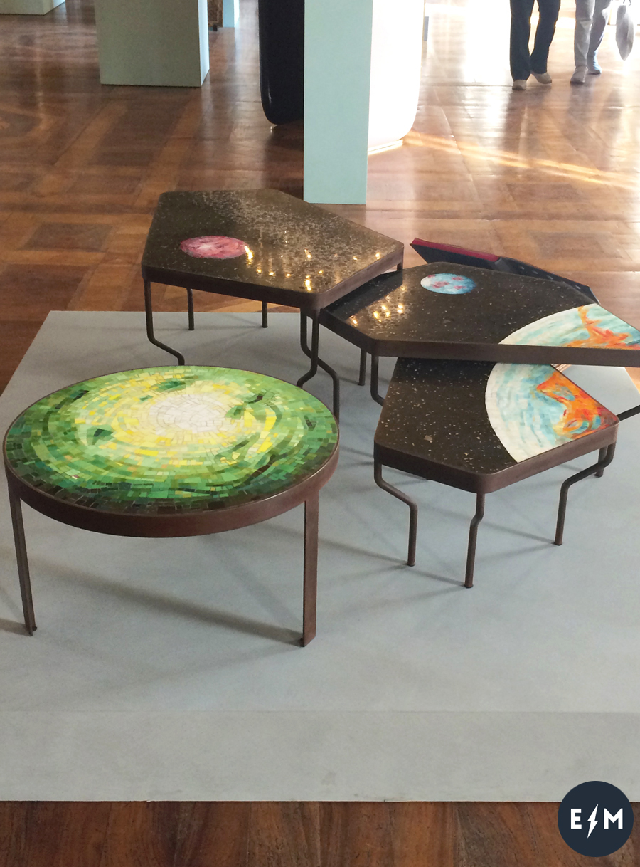 Fuorisalone 2017 - Doppia Firma - The Unknown Planets by Felix Muhrhofer e Fabrizio Travisanutto