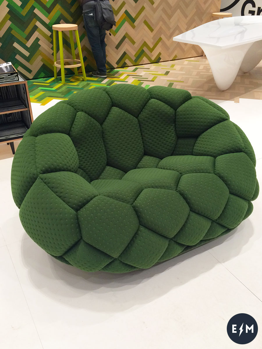 Salone del Mobile 2017 - Established & Sons - Quilt by Ronan & Erwan Bouroullec