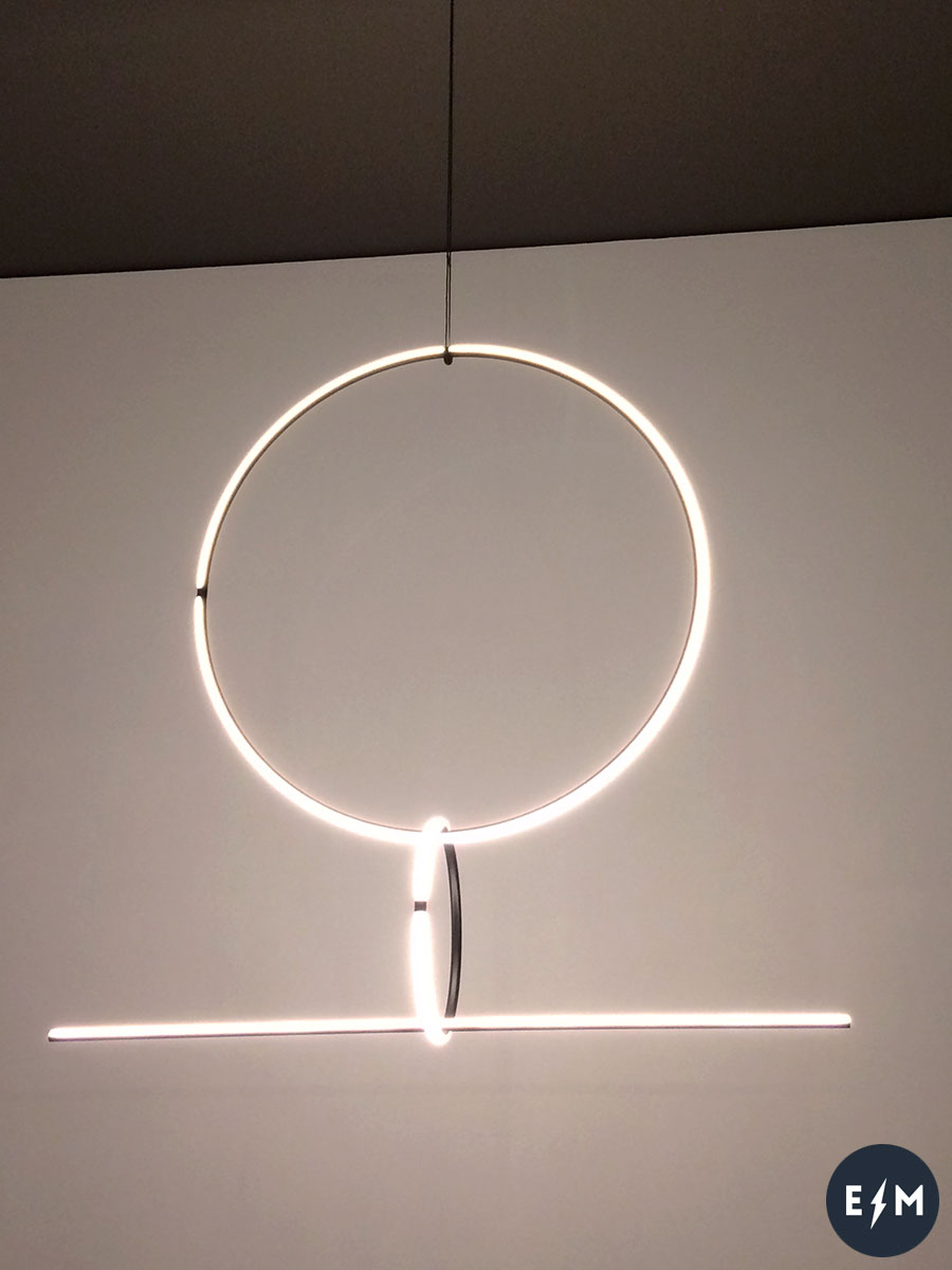 Salone del Mobile 2017 - Flos - Arrangements Lighting Series by Michael Anastassiades