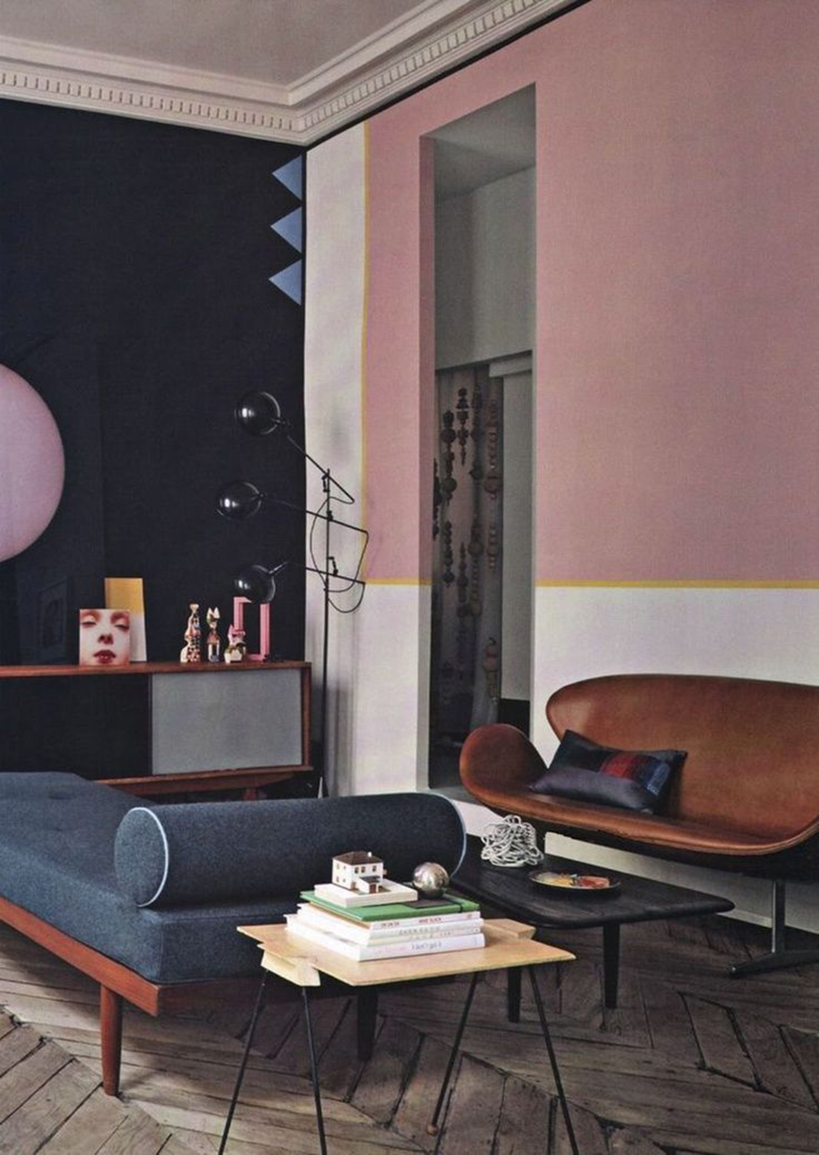 Pink - Appartement parisien - Jean-Christophe Aumas