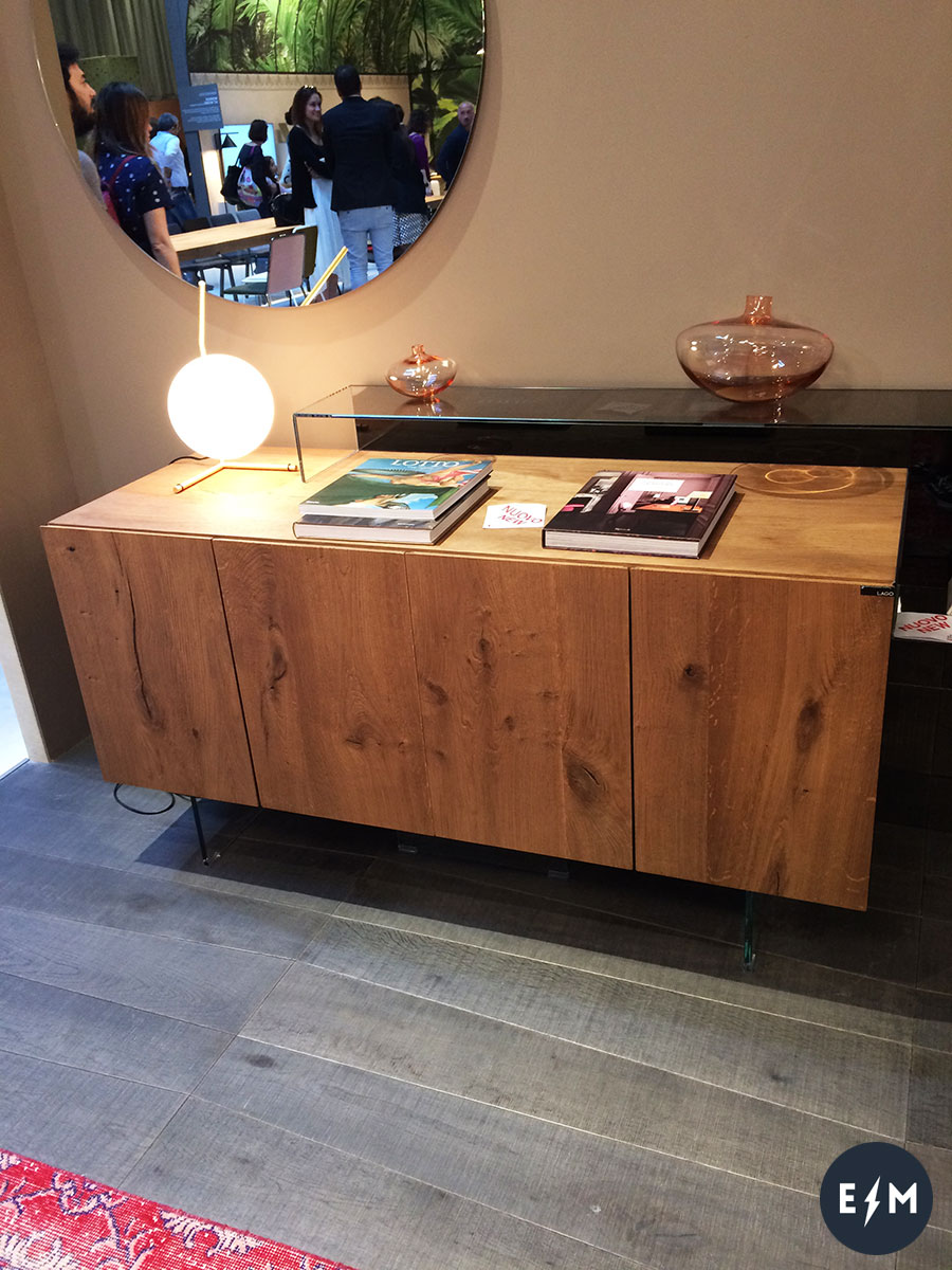 Salone del Mobile 2017 - Lago - credenza Air by Daniele Lago