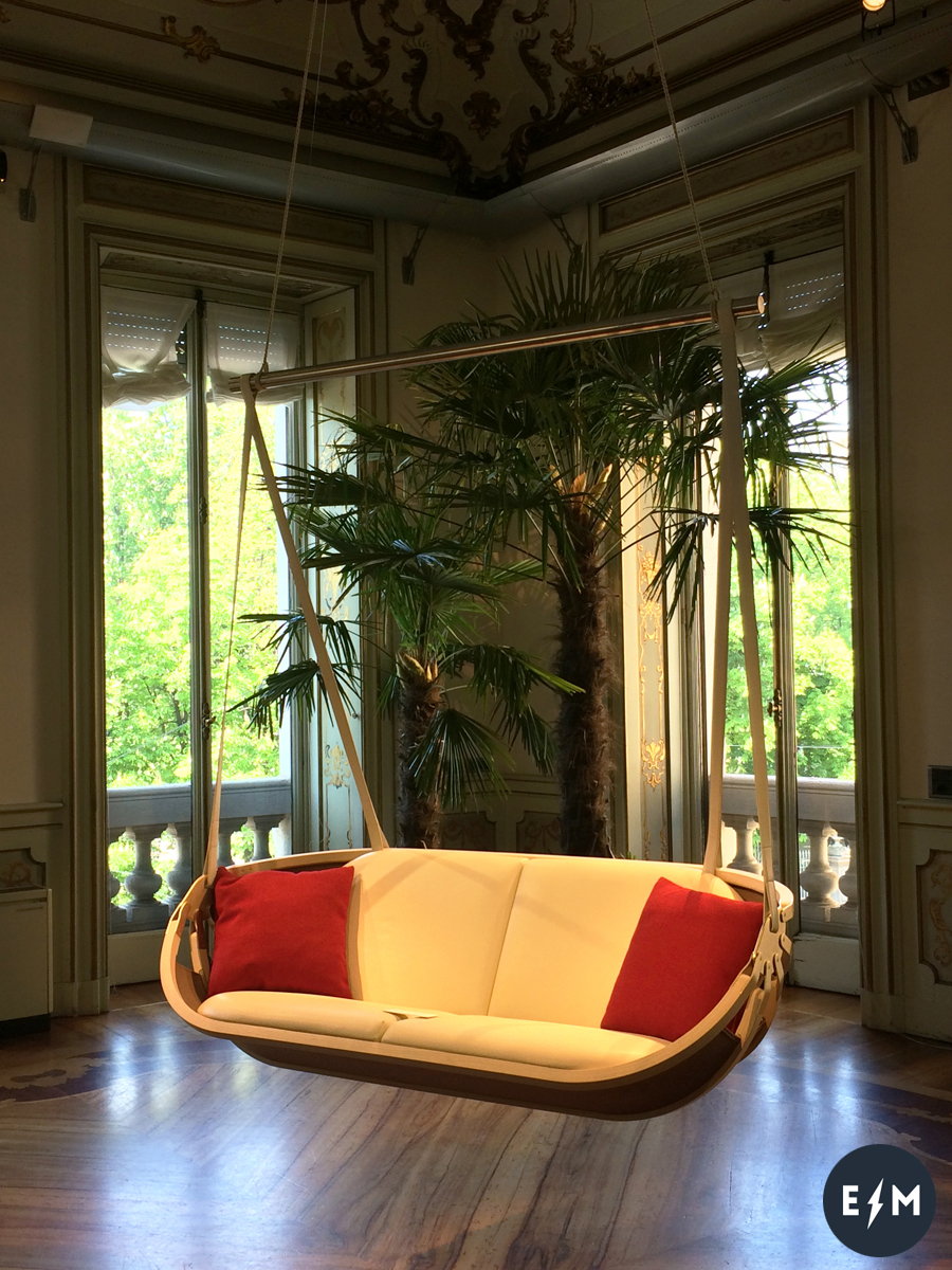 Fuorisalone 2017 - Louis Vuitton - Objets Nomades - Swing Boat by Atelier Oi