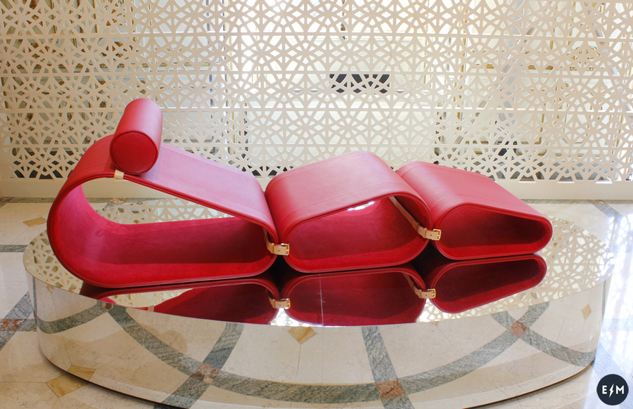 Fuorisalone 2017 - Louis Vuitton - Objets Nomades - Lounge Chair by Marcel Wanders