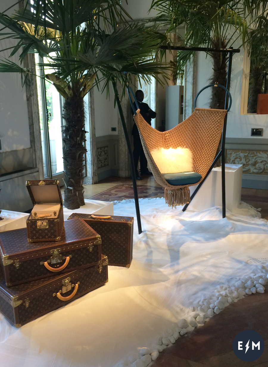 Fuorisalone 2017 - Louis Vuitton - Objets Nomades - Swing Chair by Patricia Urquiola