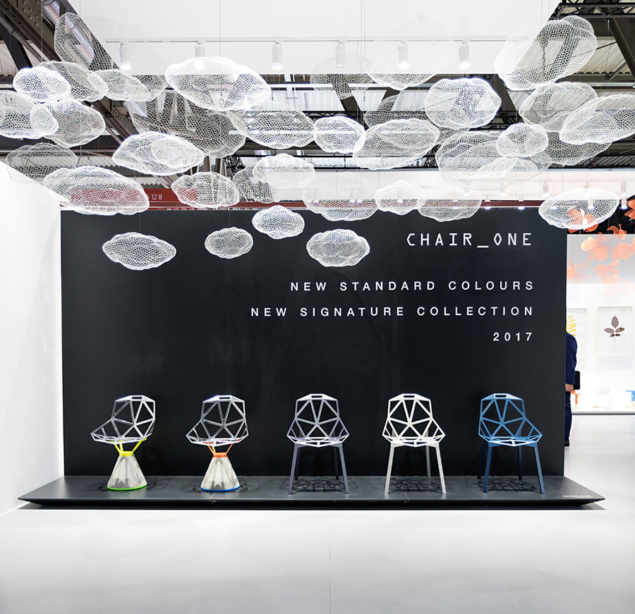 Salone del Mobile 2017 - Magis - Chair One by Konstantin Grcic