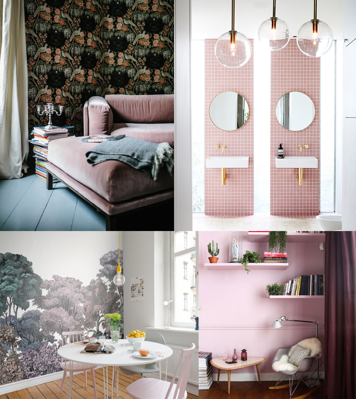 Pink - Silke Von Wit - Domino - Rebel Walls - The Socialite Family
