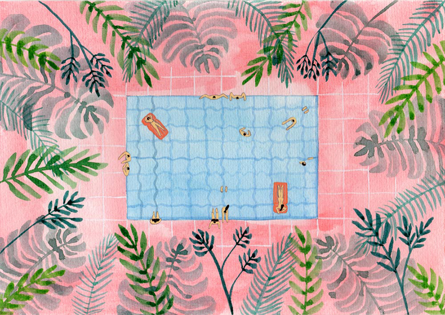Joanne Ho - Swimming Pool