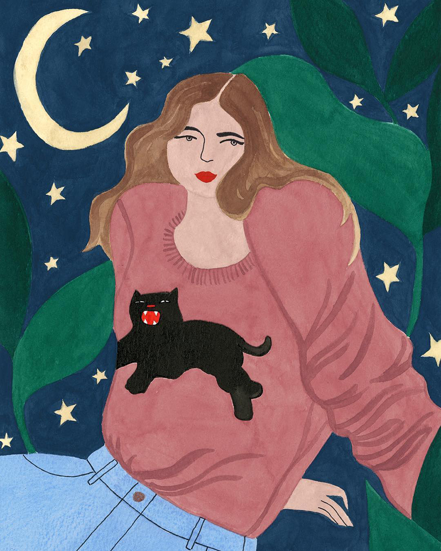 Isabelle Feliu - Panther Sweater