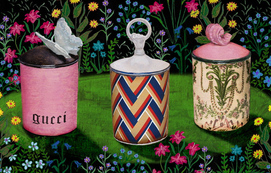 Gucci Décor - illustrazione Alex Merry
