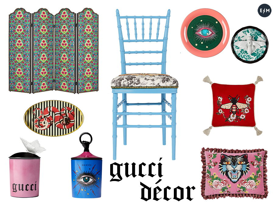 Gucci Décor - collage ElectroMode