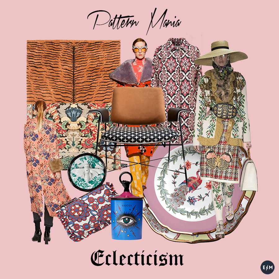 Pattern Mania - collage by ElectroMode