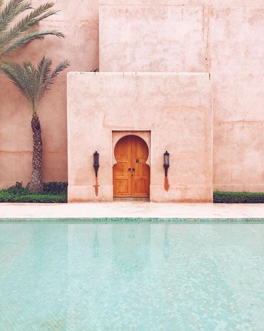 Accidentally Wes Anderson - Amanjena - Marrakech
