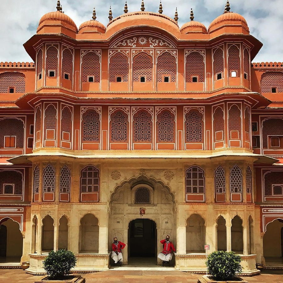 Accidentally Wes Anderson - City Palace - Jaipur