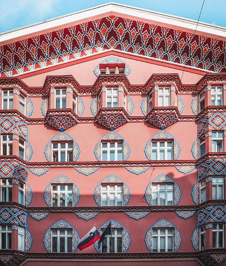 Accidentally Wes Anderson - Cooperative Business Bank - Slovenia
