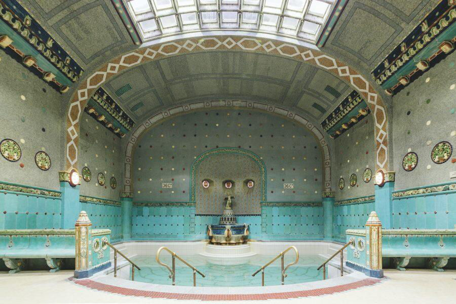 Accidentally Wes Anderson - Gellért Thermal Baths - Budapest