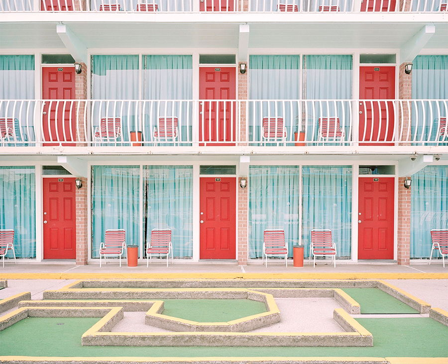 Accidentally Wes Anderson - Gold Crest Motel - Wildwood Crest - New Jersey