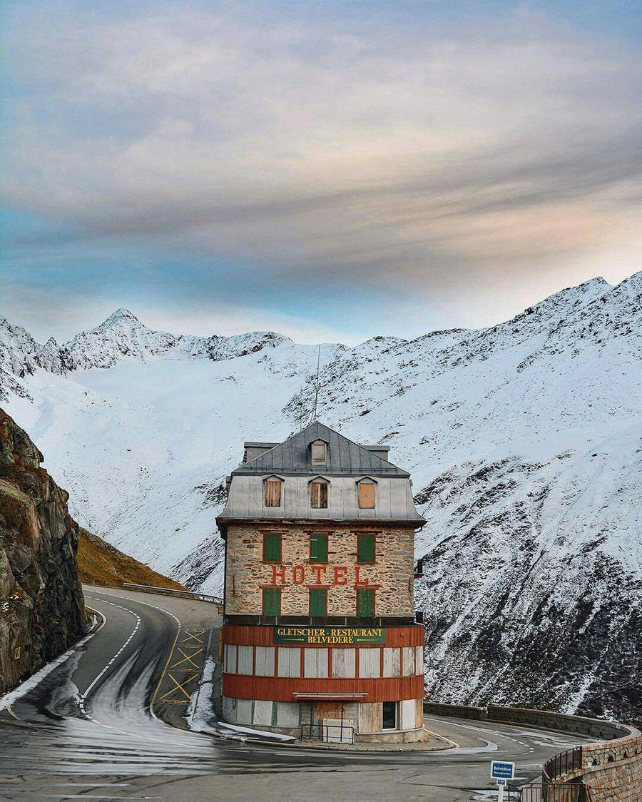 Accidentally Wes Anderson - Hotel Belvedere - Grindewald - Switzerland