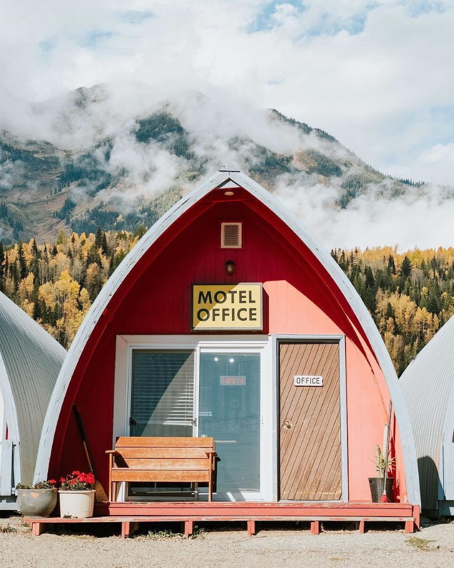 Accidentally Wes Anderson - Little Chalet Motel - Manitoba - Canada