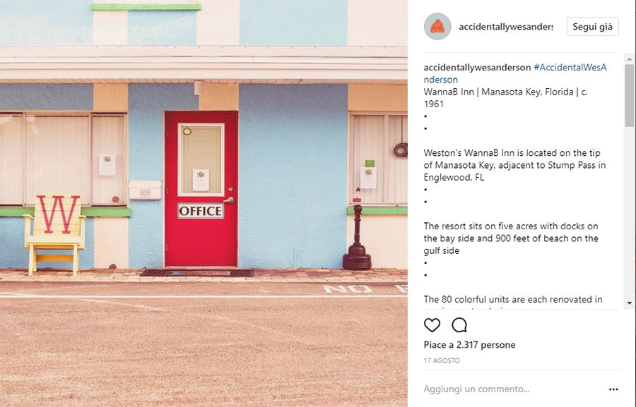 Accidentally Wes Anderson - WannaB Inn - Manasota Key - Florida
