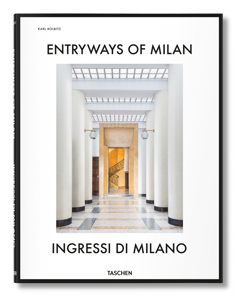 Entryways of Milan - Taschen - guida ai regali di Natale 2017