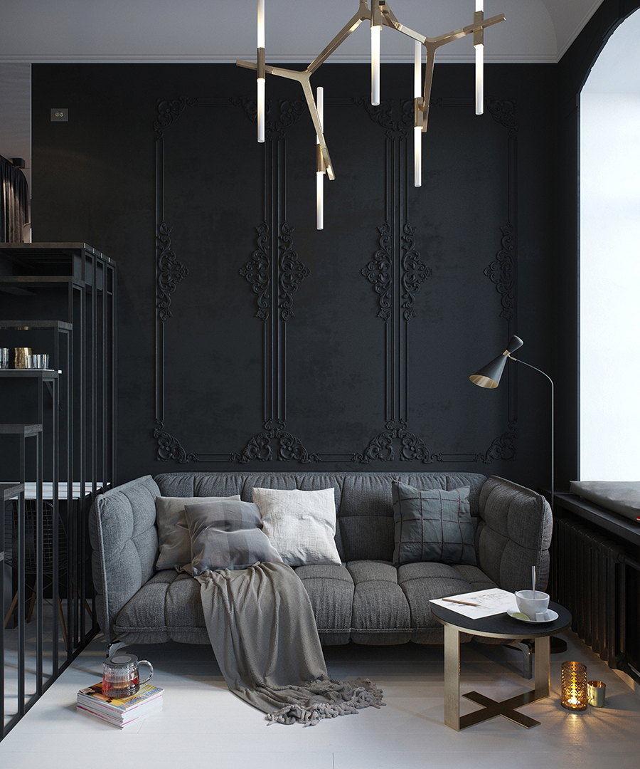 Tatiana Shishkina - Black Interior Design