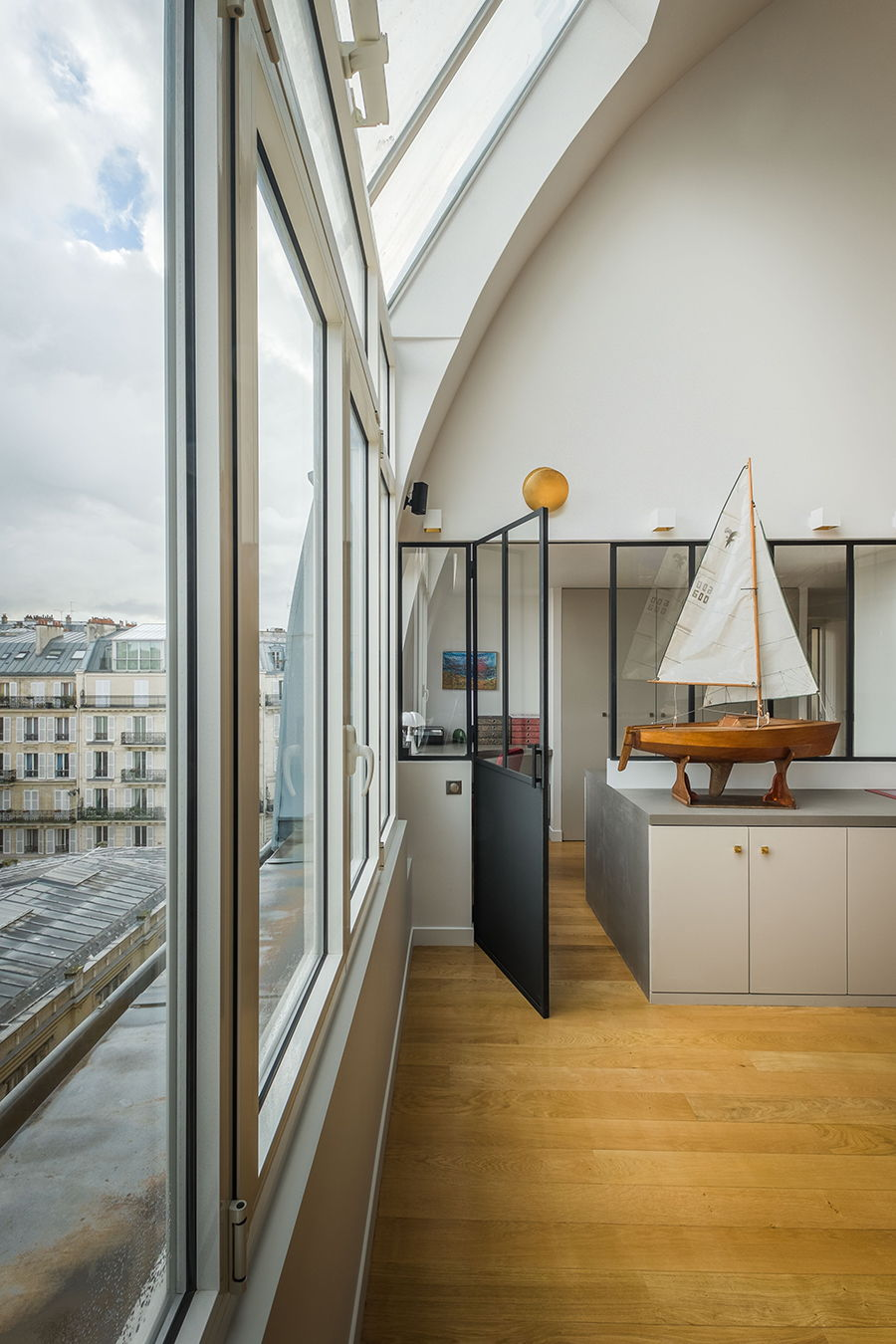 GCG Architects - Rue Andrieux - Parigi - Vetrate