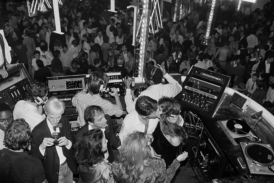 Hasse Persson - Studio 54 - Calvin Klein party - 1978 - © Hasse Persson - Night Fever
