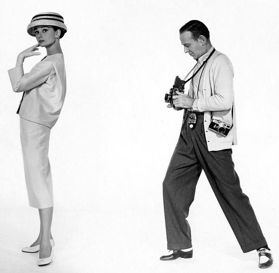 Audrey Hepburn e Fred Astaire in Funny Face -1956 - Hubert de Givenchy