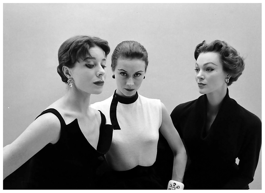 Bettina Graziani e Ivy Nichols - ph. Nat Farbman - Hubert de Givenchy