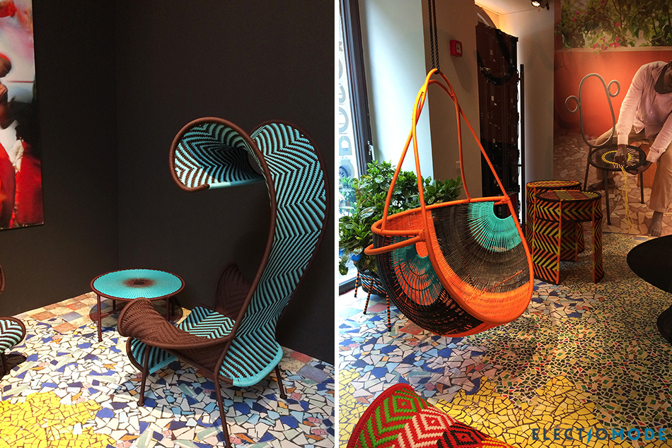 Moroso - M'Afrique Detached - Milano Design Week 2019